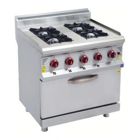 gas cooker 4 burners and oven
