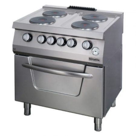 Electric Cooker 4 plates with Oven